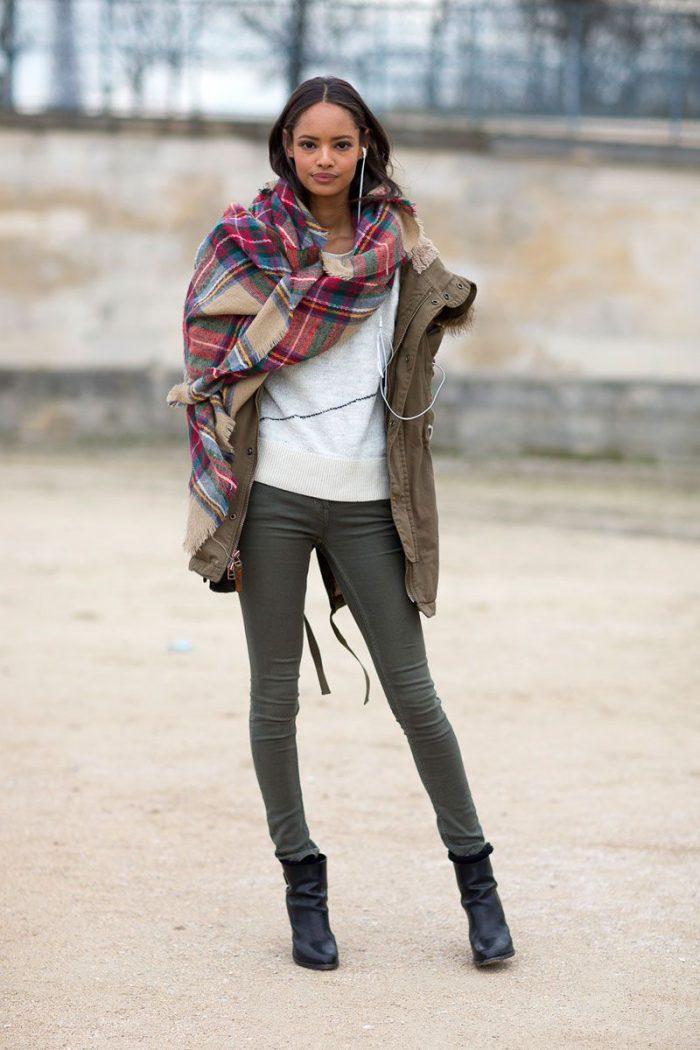 How to wear women fall scarves 2021
