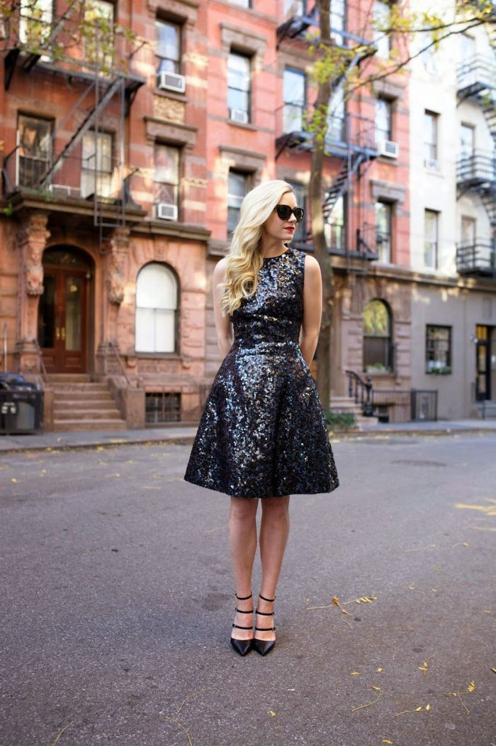 What should I wear with sequin dresses?  2021