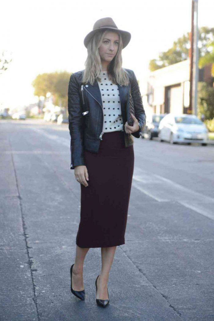 Pencil Skirts You Can Wear Anywhere 2021