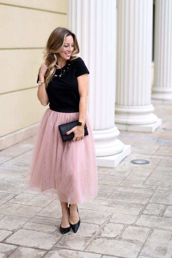 How to Wear Tulle Skirts and Stay Elegant in 2021