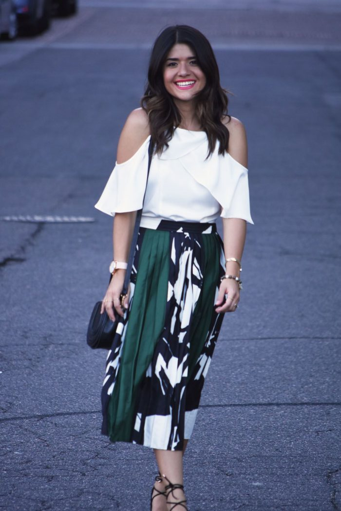 How to wear midi skirts in 2021