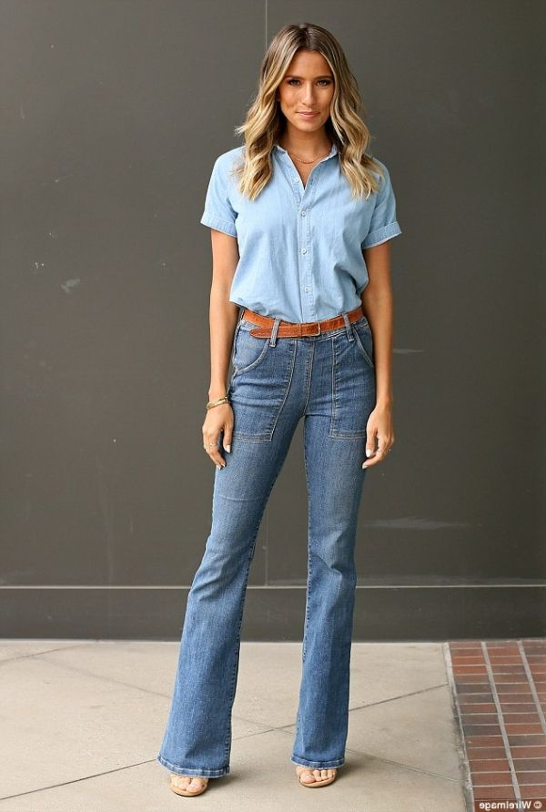 How to look amazing in exhibited jeans in 2021
