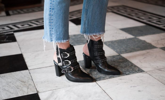 Cut out boots for women 2021