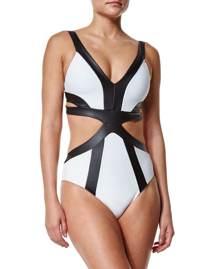 Summer leather swimsuits to keep you chic 2021