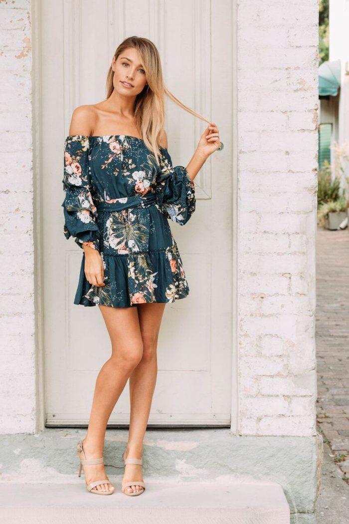 15 long-sleeved mini dresses 2021