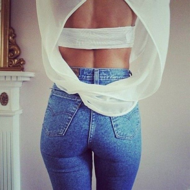 Try summer jeans trends now 2021