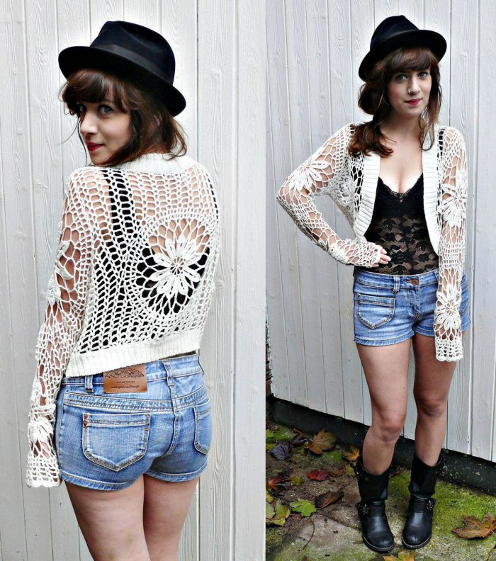 How to wear crochet clothes this summer 2021