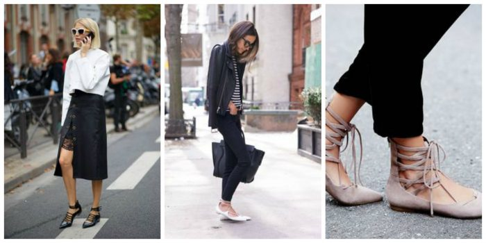 How to wear lace-up flats this summer and stay cool 2021