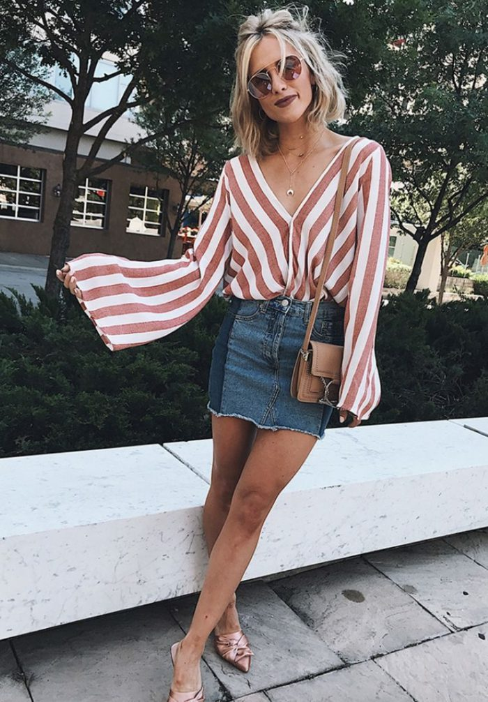 39 denim skirts that are super trendy this summer 2021