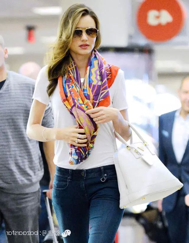 How to wear silk scarves this summer 2021