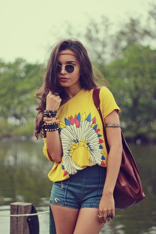 33 hippie style outfit ideas for women 2021