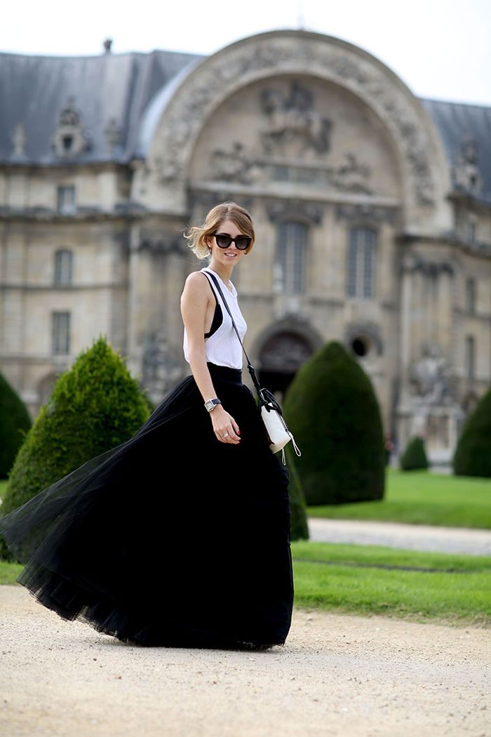 27 Ways To Wear Tulle Skirts On The Streets In 2021