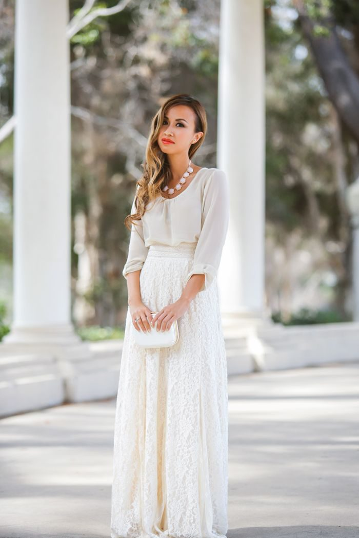 Sexy ways to wear lace in 2021