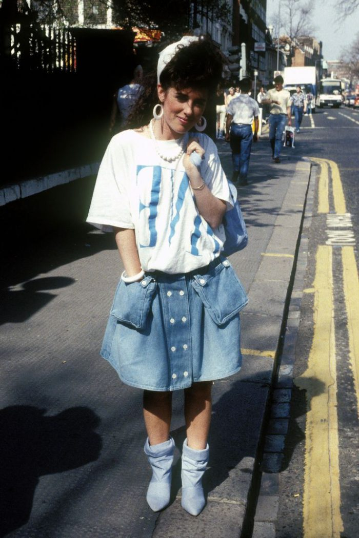 1980s inspired fashion tips for women 2021
