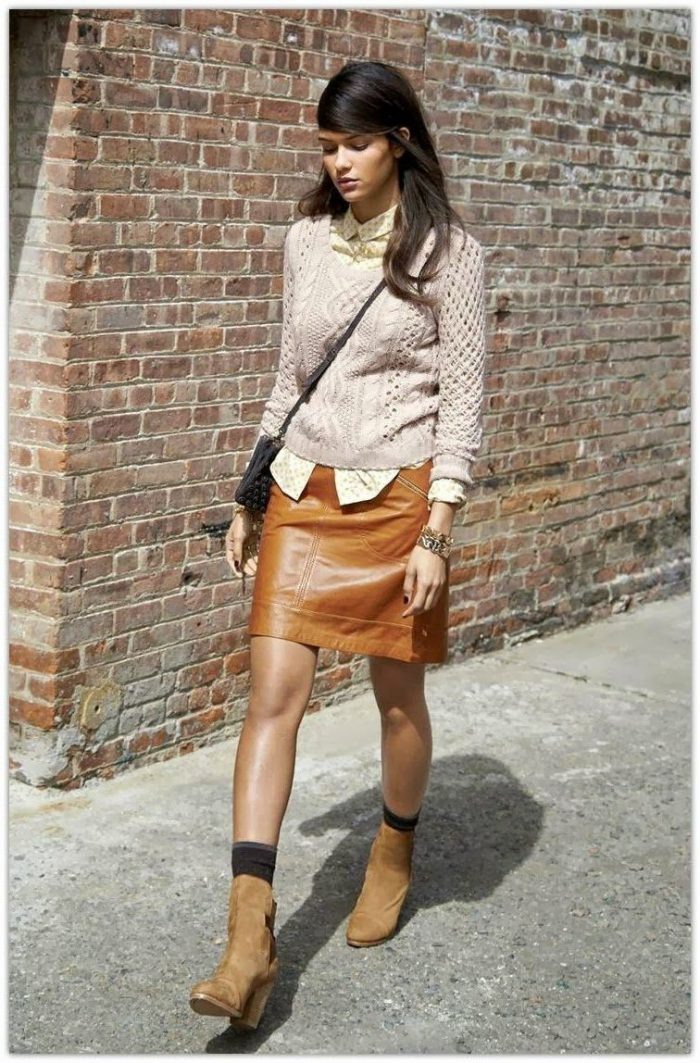Best ways to wear leather skirts in 2021