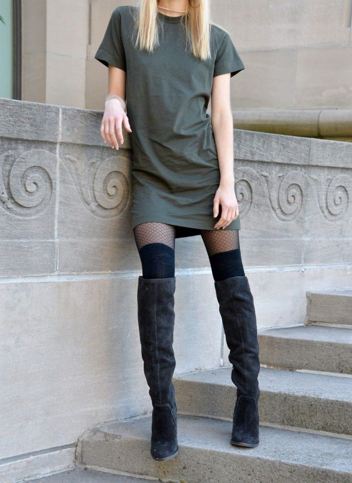 How to wear knee high boots in 2021