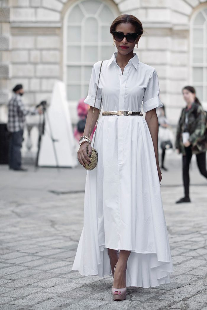 How to wear a shirt dress and look ladylike in 2021