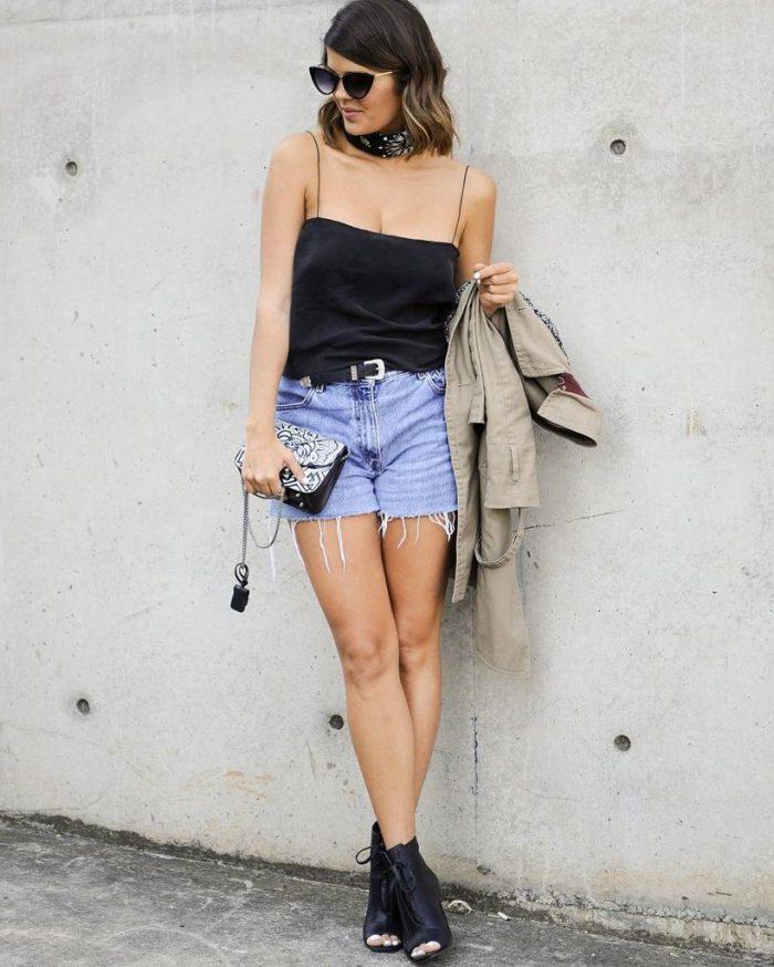 Summer ways to wear cutoff shorts in 2021