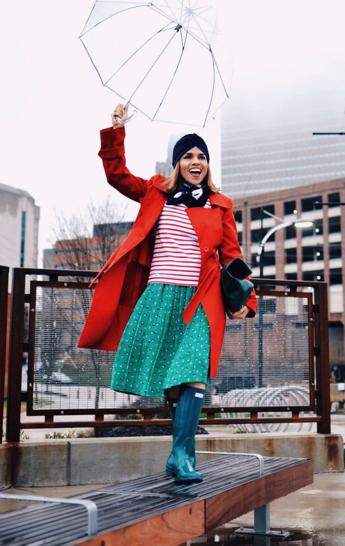 Rainy day outfit ideas for women 2021