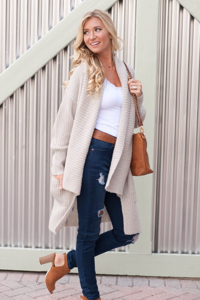 How to wear cardigan sweaters next spring 2021