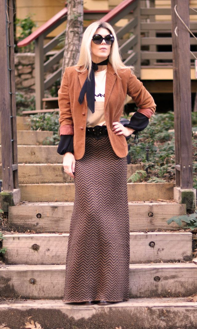 My favorite ways to wear maxi skirts in 2021