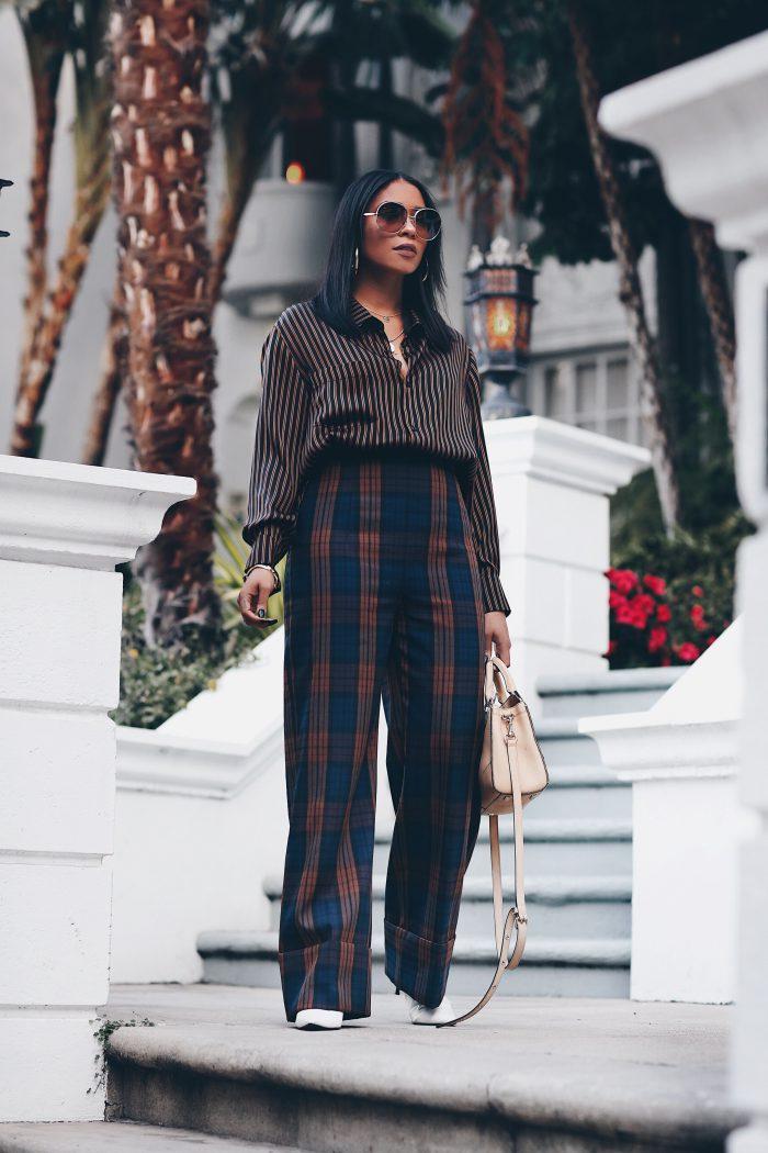How to wear tartan trend 2021