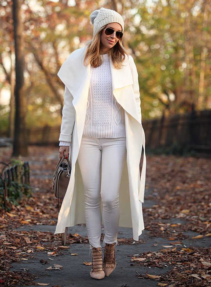 Simple and beautiful winter white outfits to wear in 2021