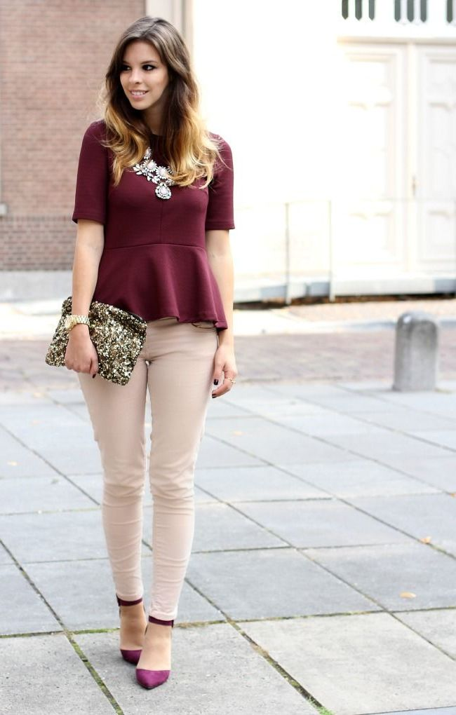 How to wear Marsala Color 2021