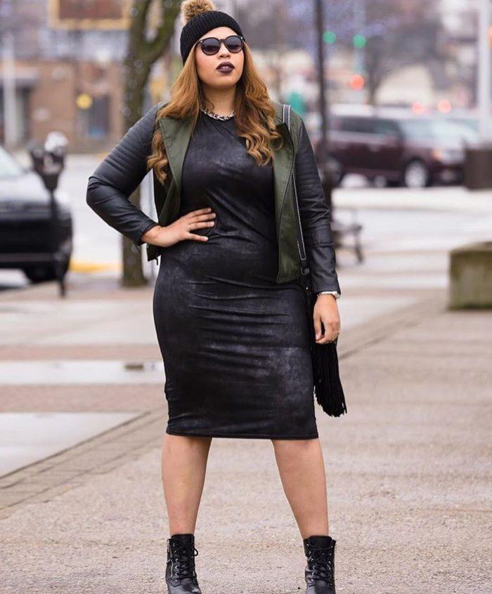 Black dresses for plus size women 2021