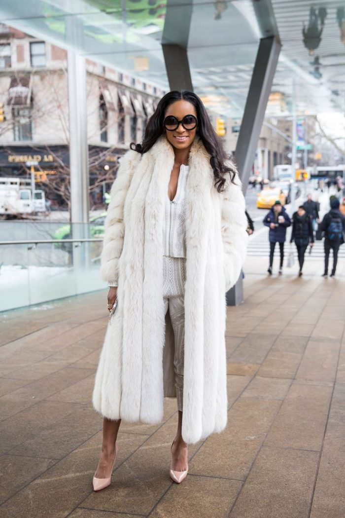 Winter white outfits 2021