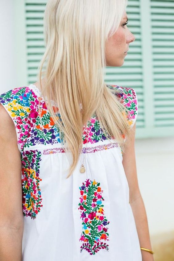 Embroidery trend for women in 2021