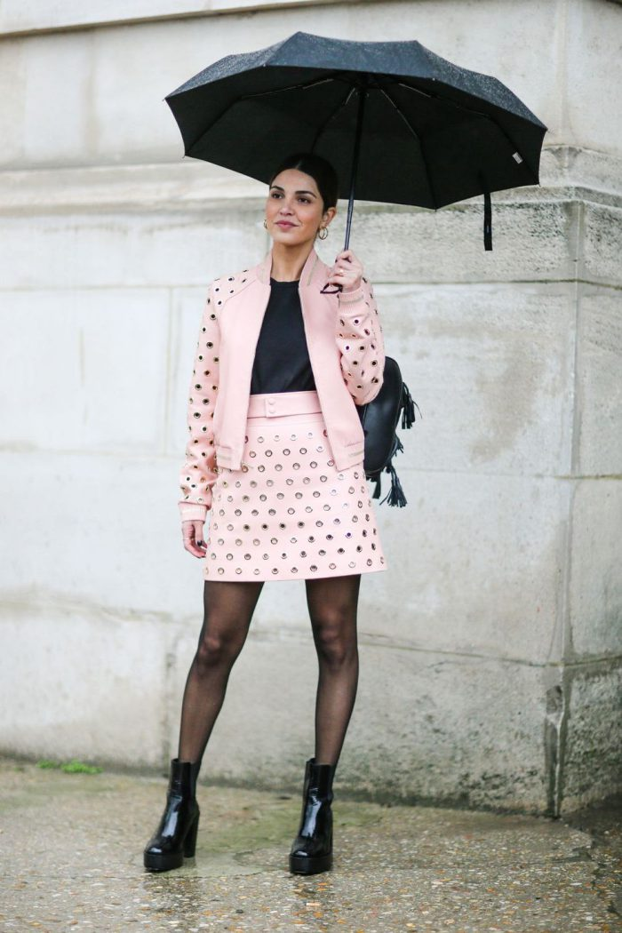 Stylish ways to wear tights in 2021
