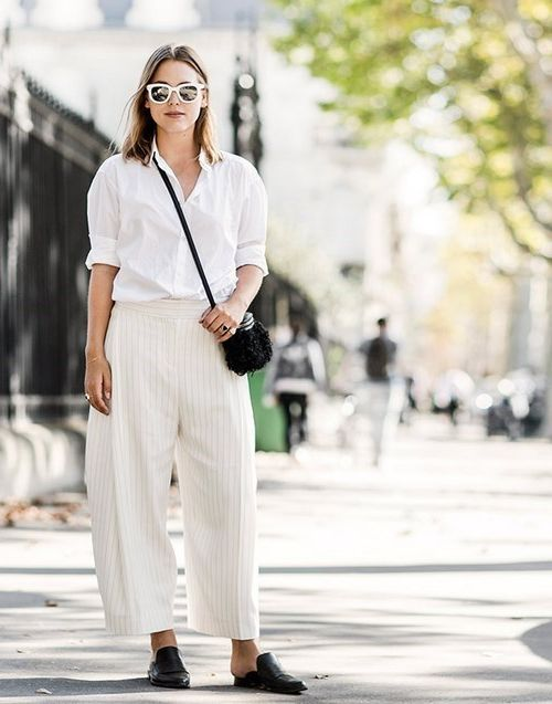 Fantastic ways to wear flat mules this summer 2021