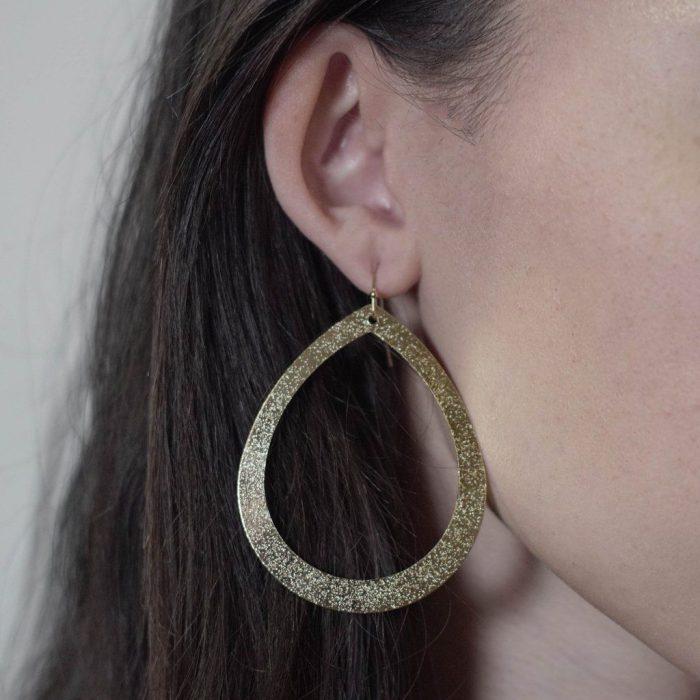 Leather earrings for women 2021