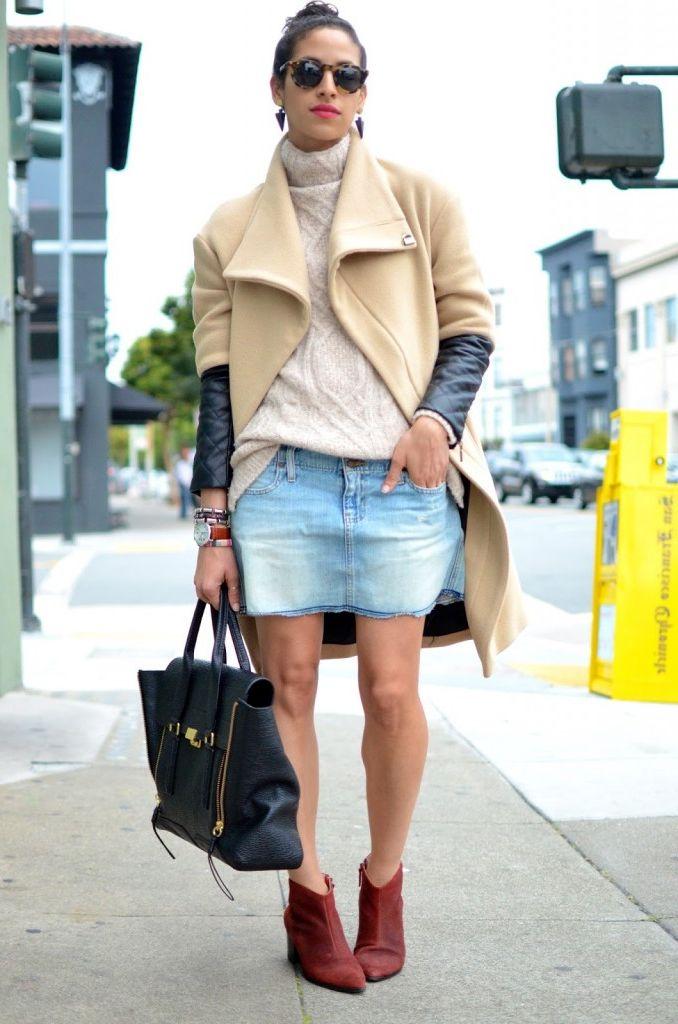 Turtlenecks and mini skirts 2021