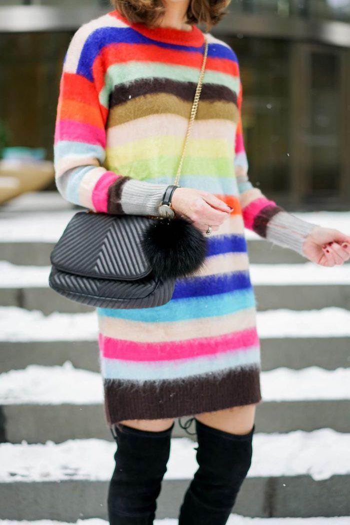 Rainbow Stripe Print for Women 2021