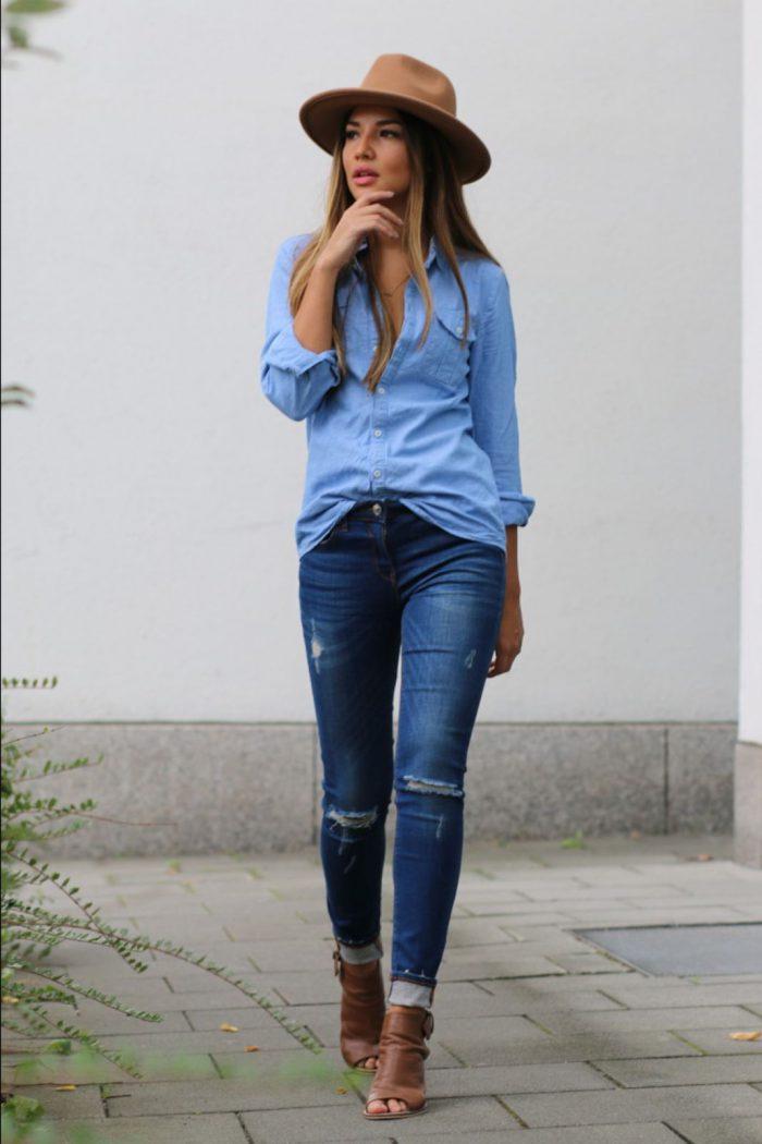 35 ways to wear denim on Denim Trend 2021