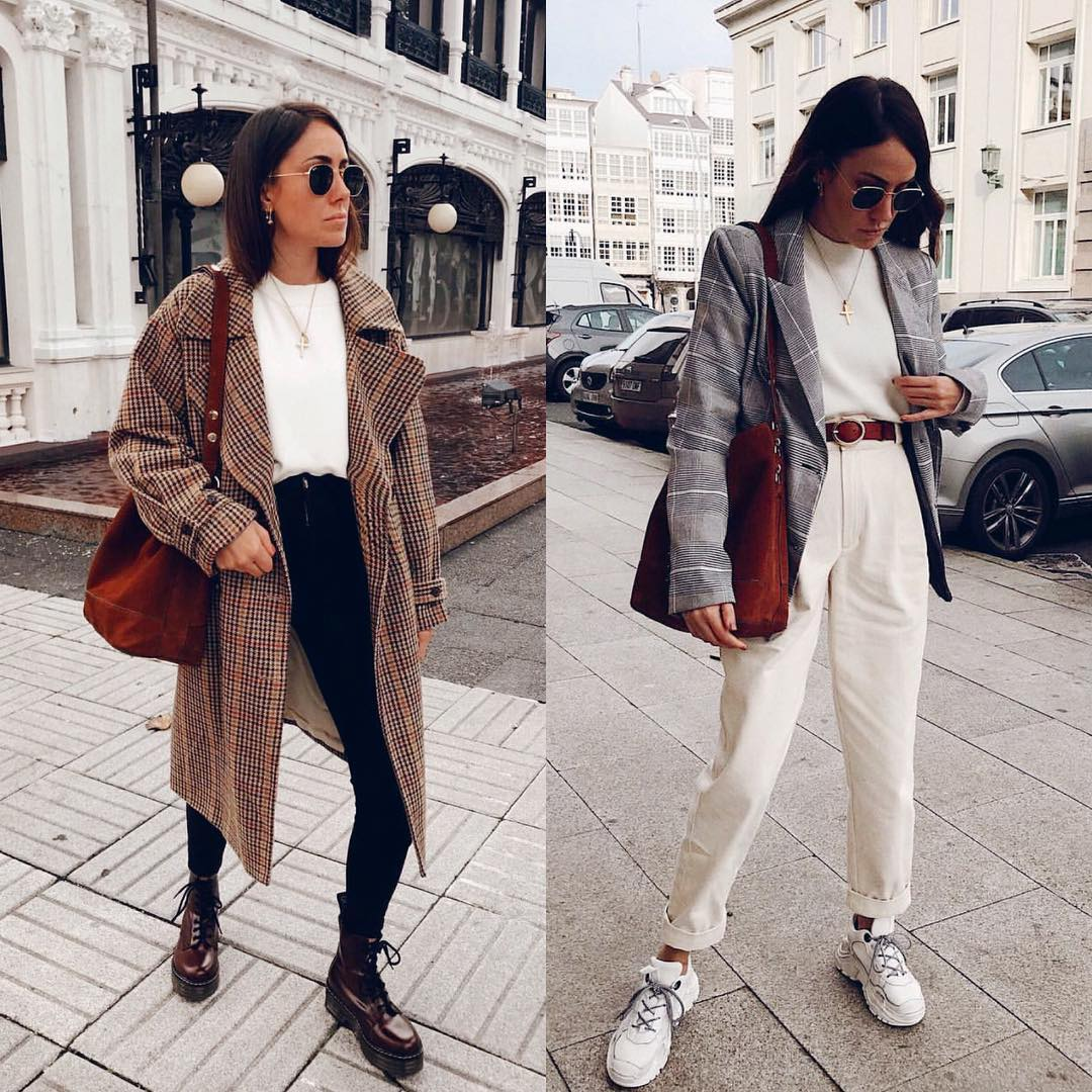 Best OOTD for September: coat and combat boots or blazers and kicks 2021