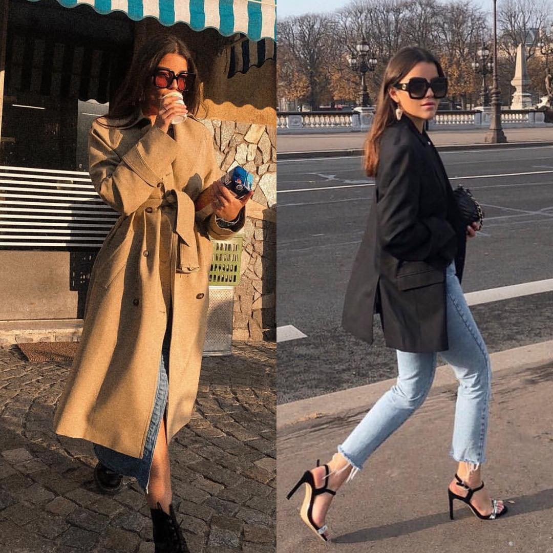 Big coat and bulky blazer: Oversized Outerwear Essentials 2021