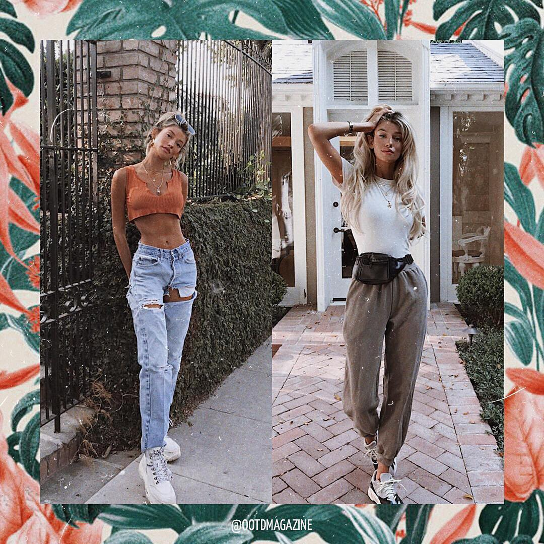 Casual basics for the summer vacation 2021