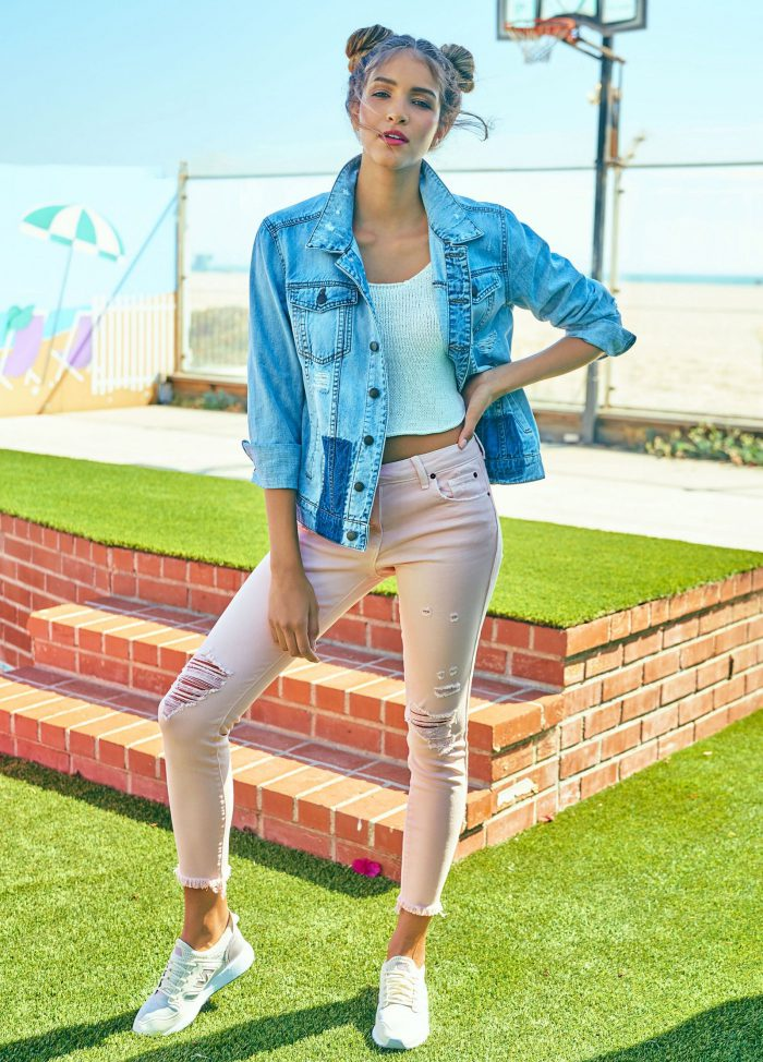 Fabulous pastel jeans for everyday life 2021