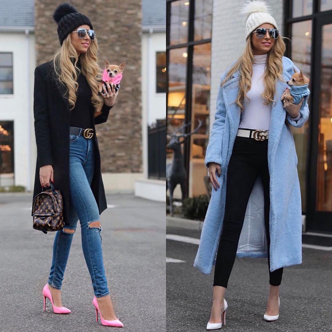 Fall essentials: coats, turtlenecks and skinny jeans 2021