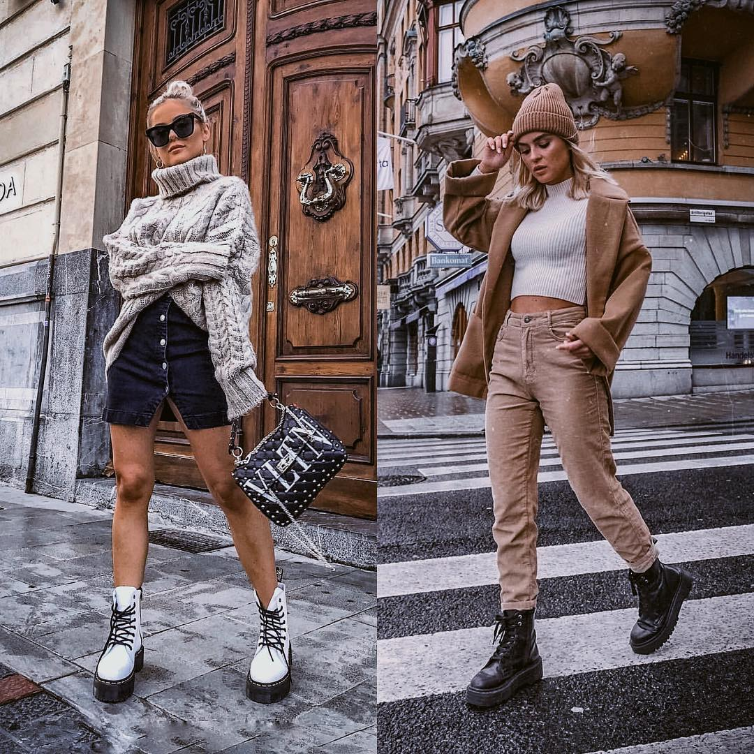 Fall Knitwear Outfit Ideas for Grunge Ladies 2021