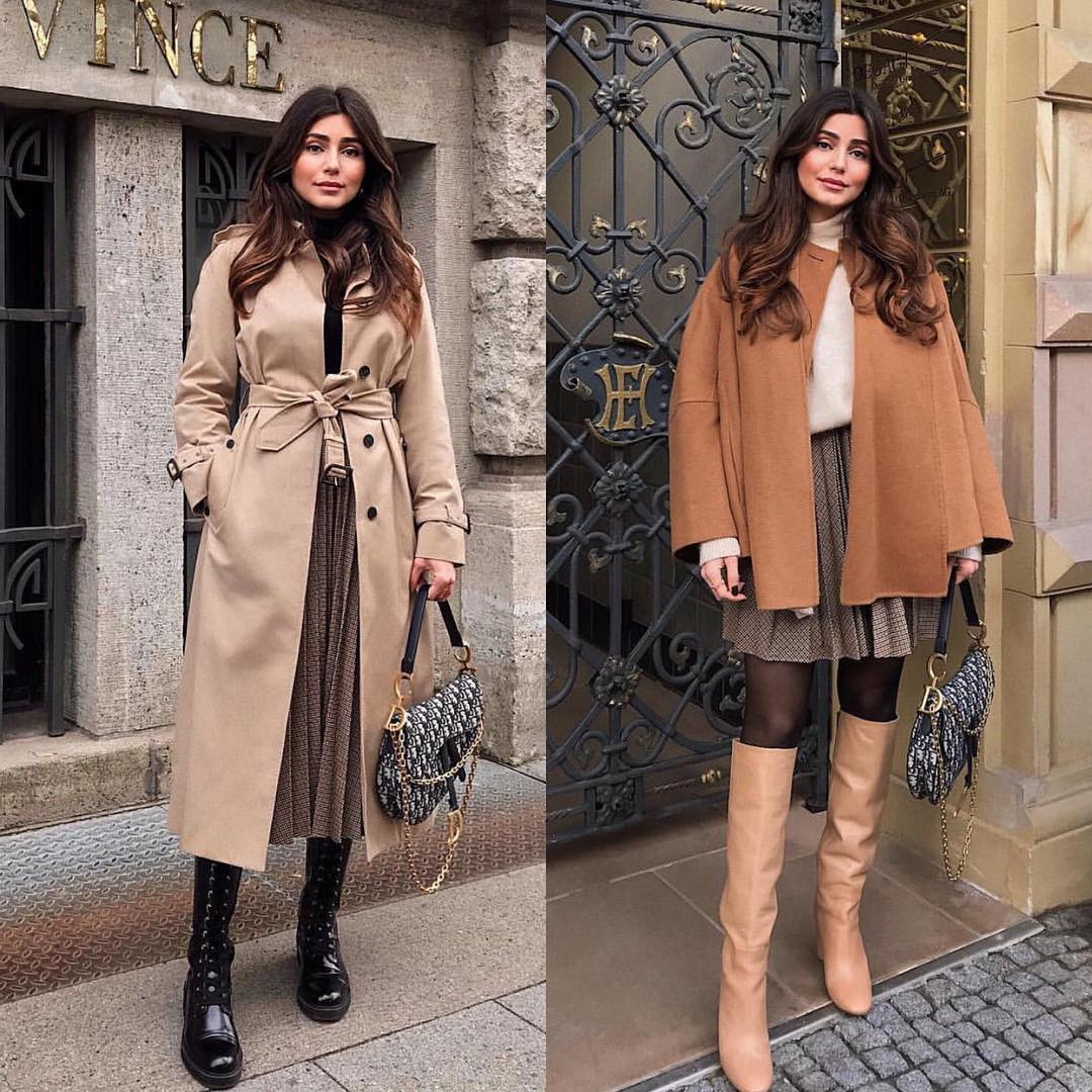 French chic outerwear outfit ideas for fall 2021