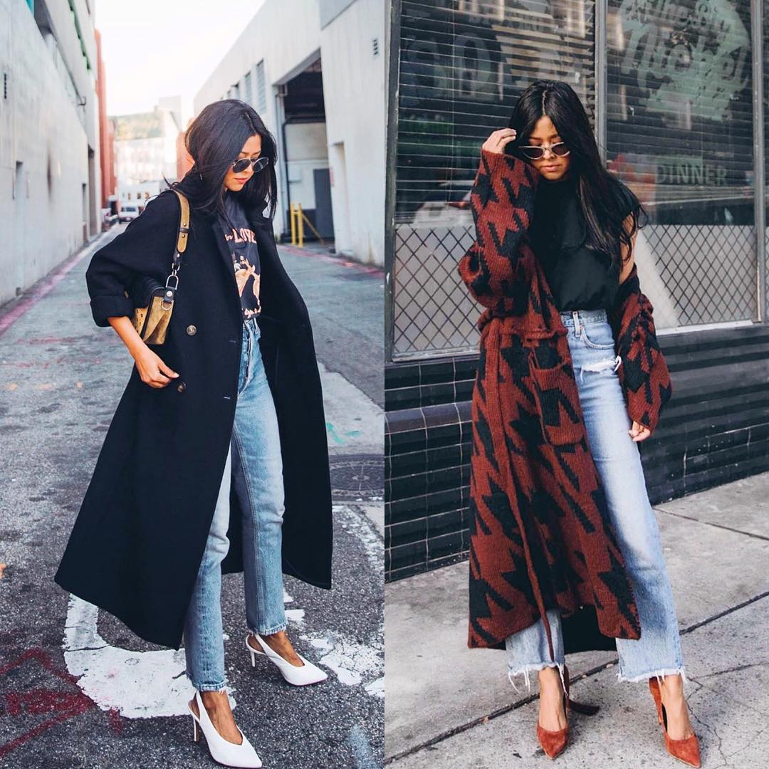 How to style long coats and look chic this fall 2021