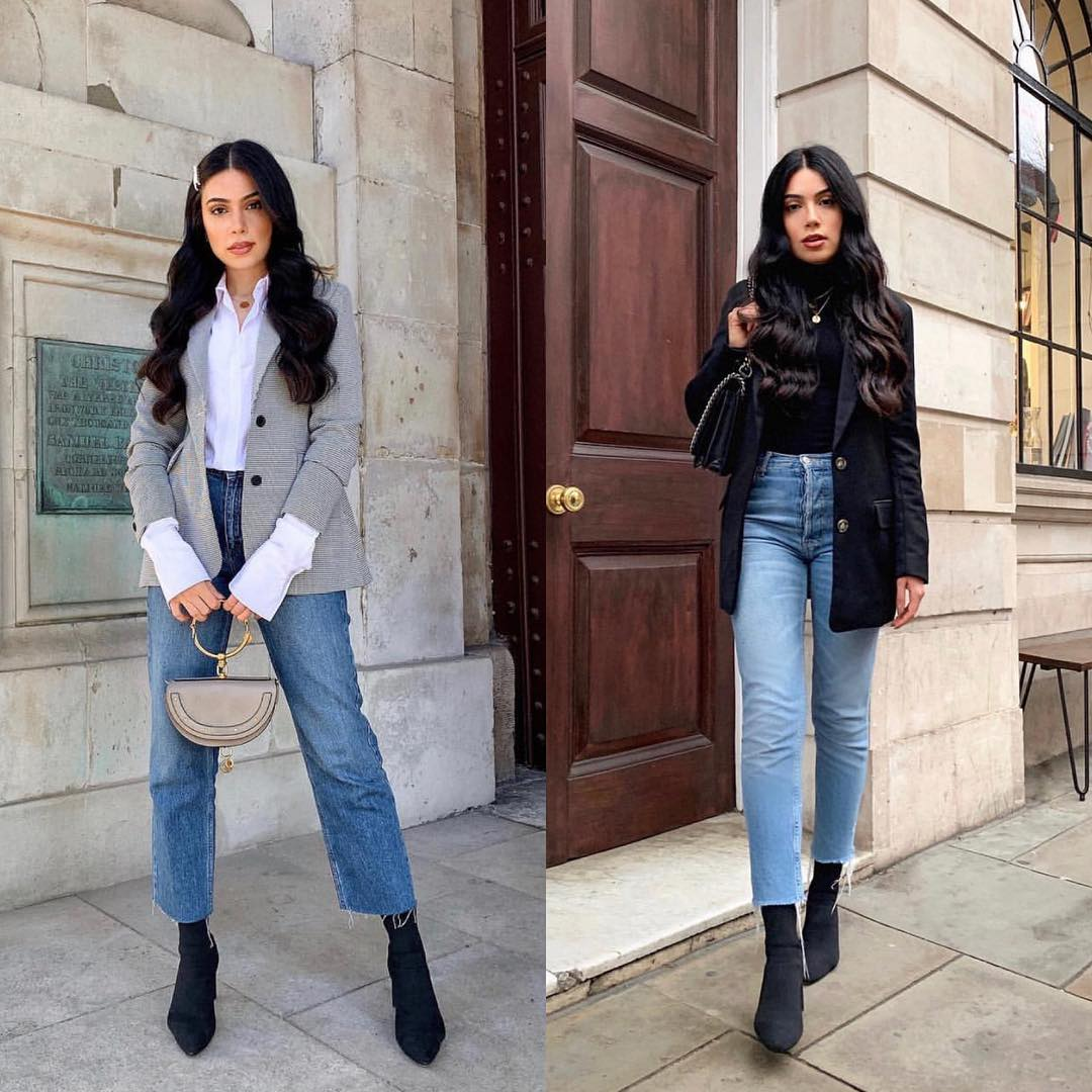 How to wear blazers with jeans this fall 2021