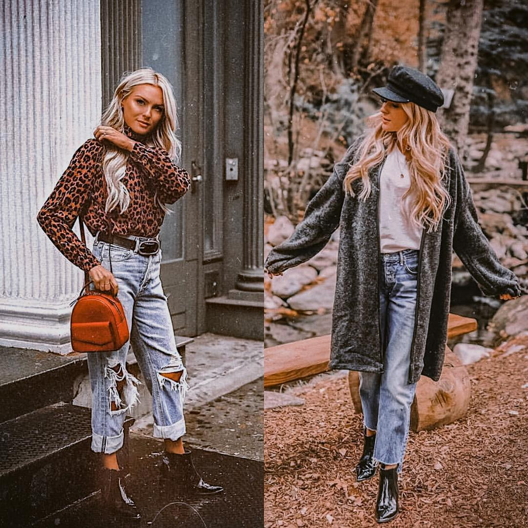 How to wear boyfriend jeans the casual way this fall 2021