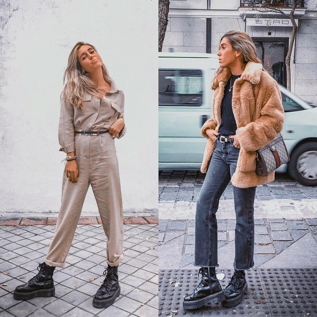 How to wear platform combat boots this fall 2021