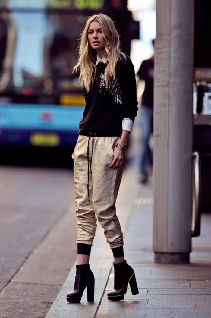 Street style sweatpants are looking for women 2021