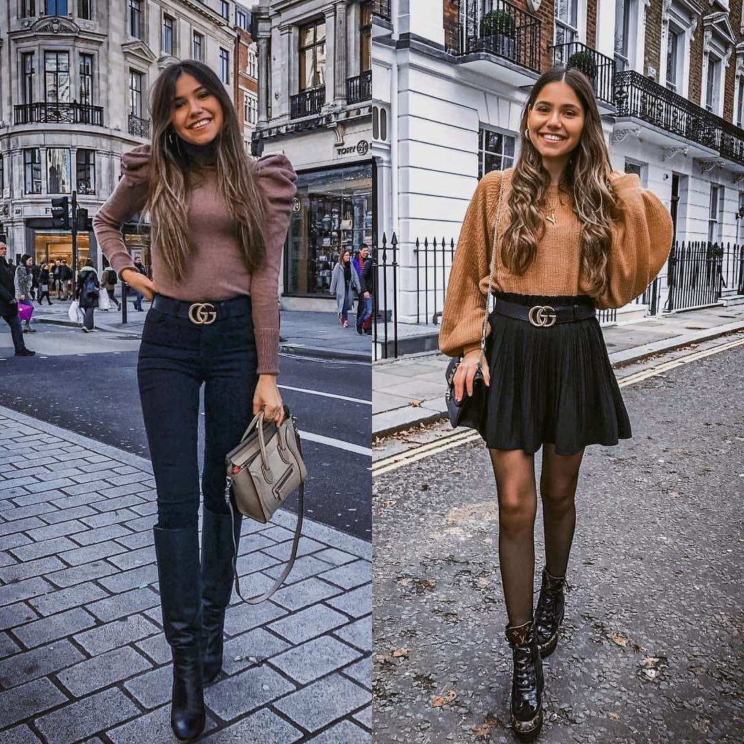 Paris Lady Look: Creative top, elegant bottom for autumn 2021